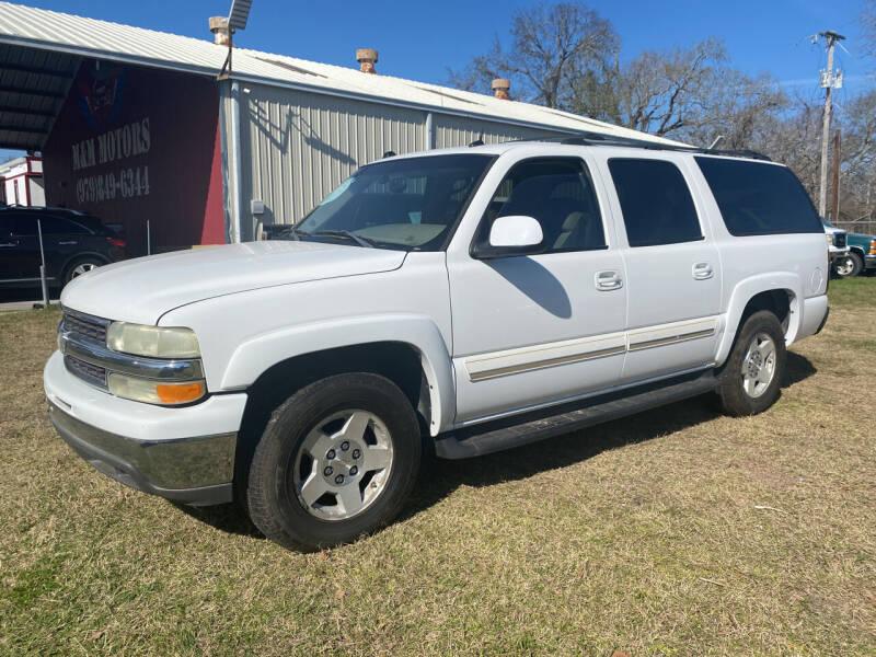2004 Chevrolet Suburban for sale at M & M Motors in Angleton TX