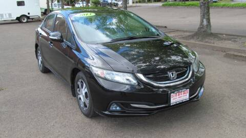 2013 Honda Civic for sale at D & M Auto Sales in Corvallis OR