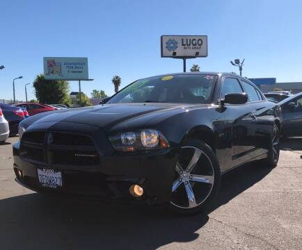 2014 Dodge Charger for sale at LUGO AUTO GROUP in Sacramento CA