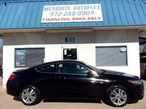 2009 Honda Accord for sale at MESQUITE AUTOPLEX in Mesquite TX