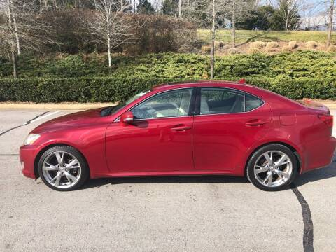 2009 Lexus IS 250 for sale at Ron's Auto Sales (DBA Select Automotive) in Lebanon TN