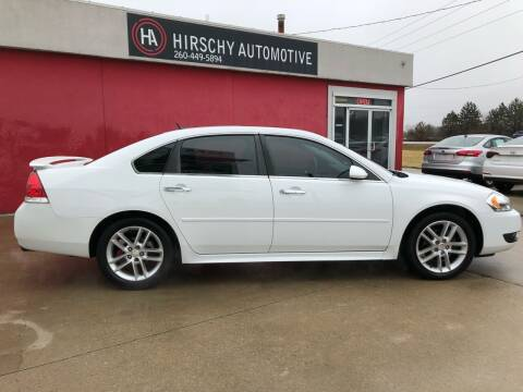 2013 Chevrolet Impala for sale at Hirschy Automotive in Fort Wayne IN