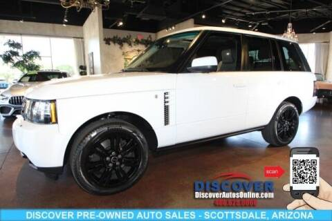 2012 Land Rover Range Rover for sale at Discover Pre-Owned Auto Sales in Scottsdale AZ