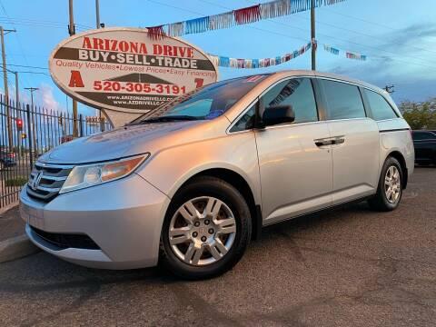 2011 Honda Odyssey for sale at Arizona Drive LLC in Tucson AZ