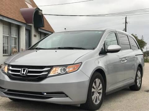 2014 Honda Odyssey for sale at Makka Auto Sales in Dallas TX