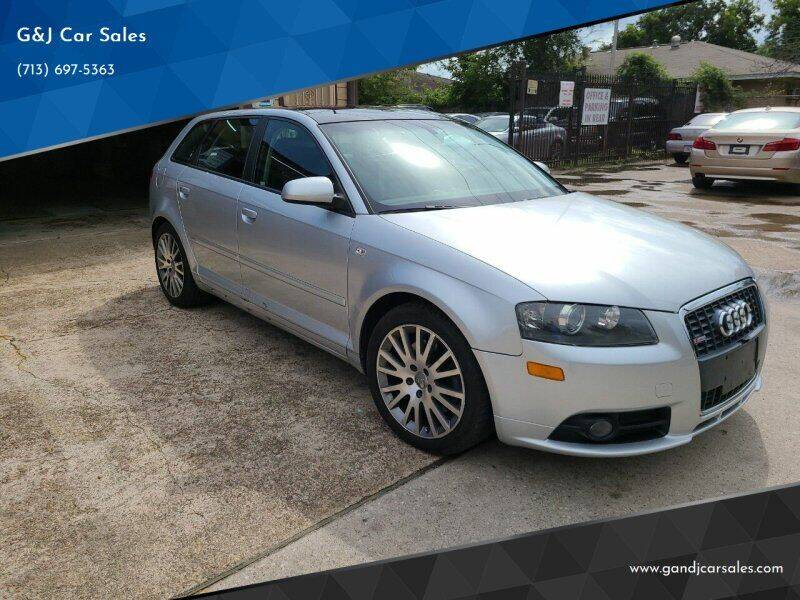 2007 Audi A3 for sale at G&J Car Sales in Houston TX
