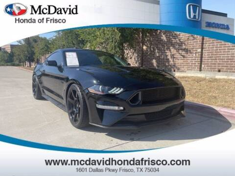 2018 Ford Mustang for sale at DAVID McDAVID HONDA OF IRVING in Irving TX