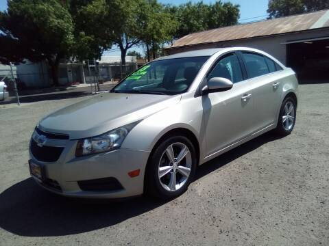2013 Chevrolet Cruze for sale at Larry's Auto Sales Inc. in Fresno CA