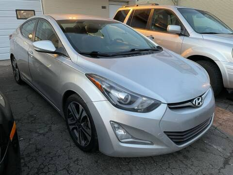 2016 Hyundai Elantra for sale at Dennis Public Garage in Newark NJ