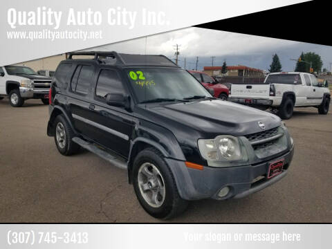 2002 Nissan Xterra for sale at Quality Auto City Inc. in Laramie WY