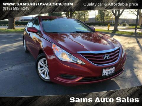 2013 Hyundai Sonata for sale at Sams Auto Sales in North Highlands CA