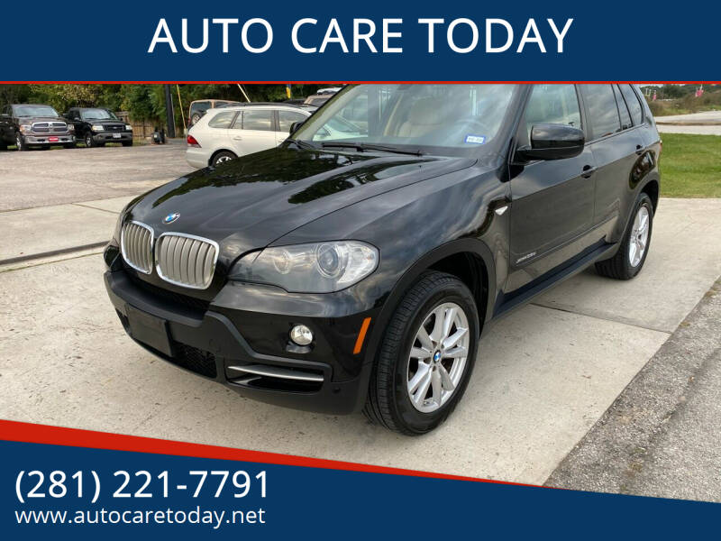 2010 BMW X5 for sale at AUTO CARE TODAY in Spring TX