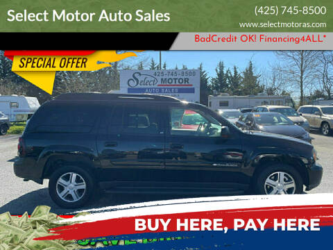 2004 Chevrolet TrailBlazer EXT for sale at Select Motor Auto Sales in Lynnwood WA