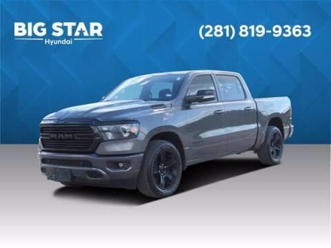 2021 RAM Ram Pickup 1500 for sale at BIG STAR HYUNDAI in Houston TX