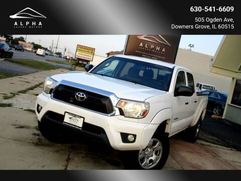 2013 Toyota Tacoma for sale at Alpha Luxury Motors in Downers Grove IL