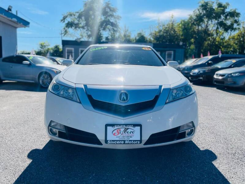 2010 Acura TL for sale at Sincere Motors LLC in Baltimore MD