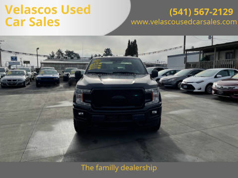 2018 Ford F-150 for sale at Velascos Used Car Sales in Hermiston OR