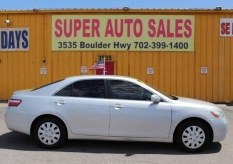 2007 Toyota Camry for sale at Super Auto Sales in Las Vegas NV