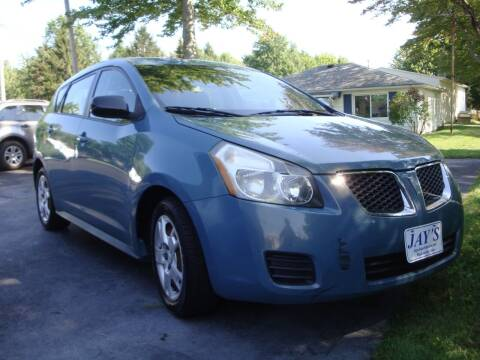 2009 Pontiac Vibe for sale at Jay's Auto Sales Inc in Wadsworth OH