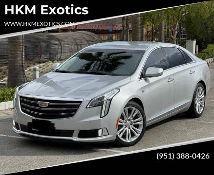 2018 Cadillac XTS for sale at HKM Exotics in Corona CA