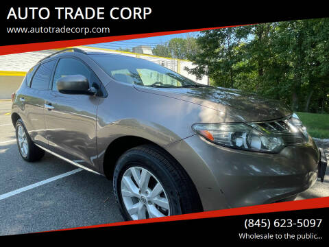 2011 Nissan Murano for sale at AUTO TRADE CORP in Nanuet NY