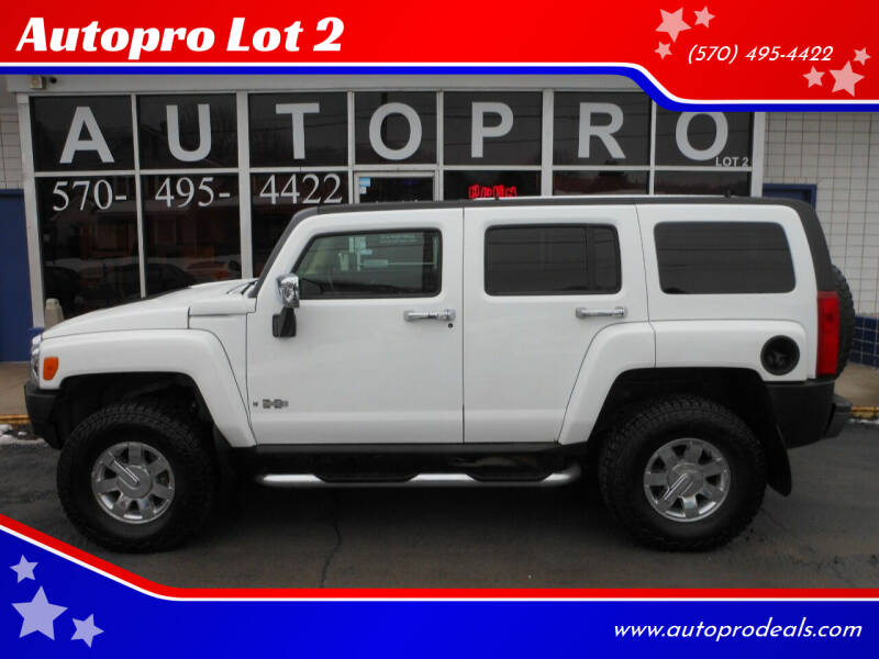 2006 HUMMER H3 for sale at Autopro Lot 2 in Sunbury PA