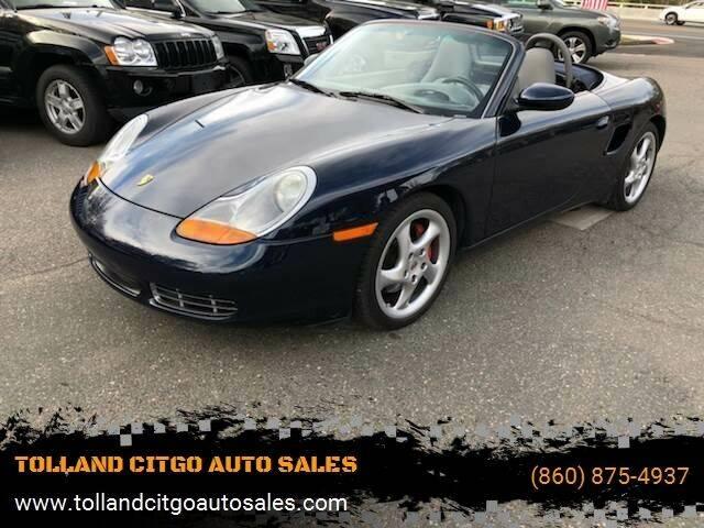 2000 Porsche Boxster for sale at TOLLAND CITGO AUTO SALES in Tolland CT