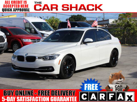 2016 BMW 3 Series for sale at The Car Shack in Hialeah FL
