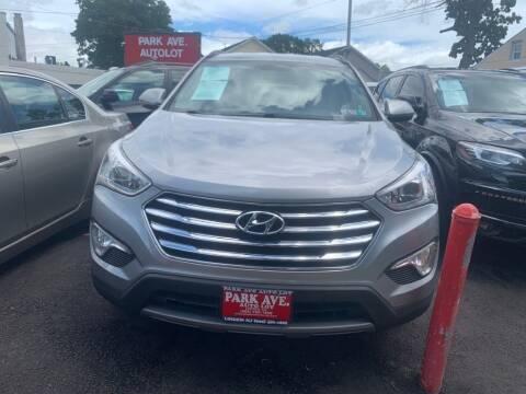 2013 Hyundai Santa Fe for sale at Park Avenue Auto Lot Inc in Linden NJ