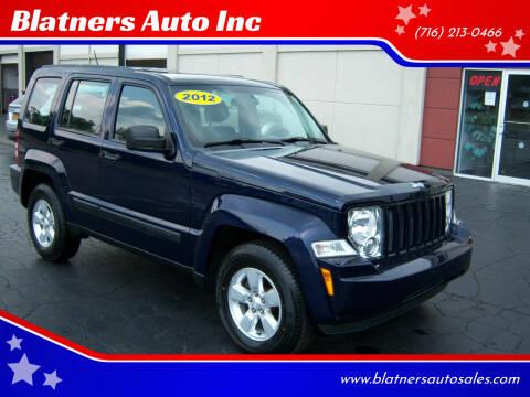 2012 Jeep Liberty for sale at Blatners Auto Inc in North Tonawanda NY