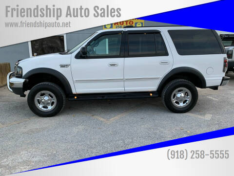 2002 Ford Expedition for sale at Friendship Auto Sales in Broken Arrow OK
