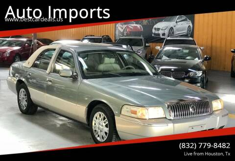 2006 Mercury Grand Marquis for sale at Auto Imports in Houston TX