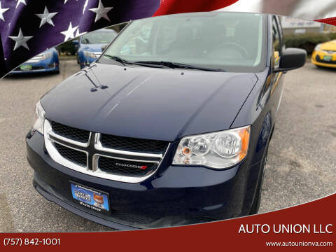 2016 Dodge Grand Caravan for sale at Auto Union LLC in Virginia Beach VA