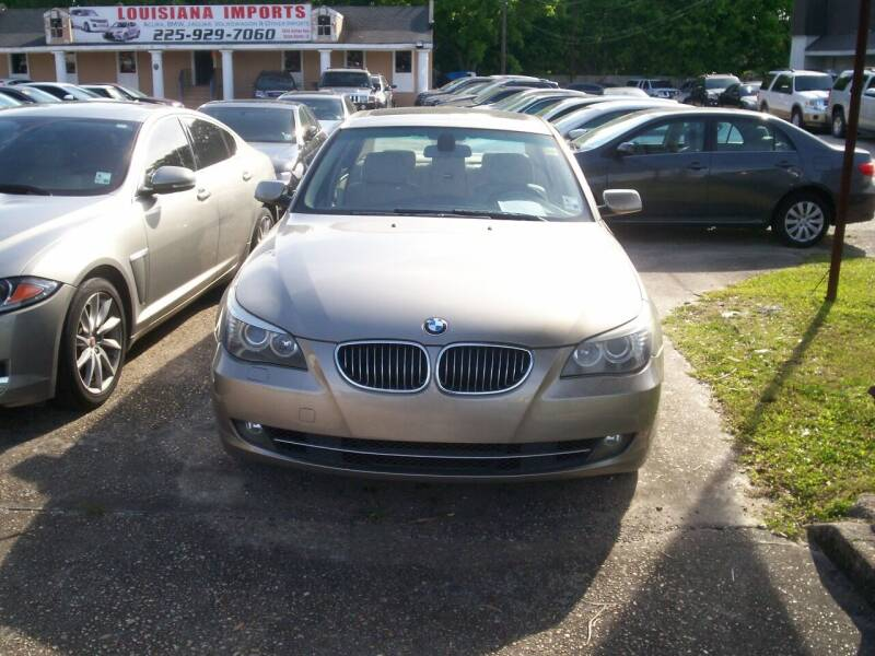 2008 BMW 5 Series for sale at Louisiana Imports in Baton Rouge LA