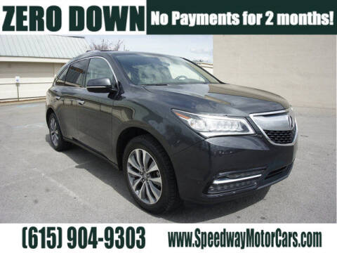2015 Acura MDX for sale at Speedway Motors in Murfreesboro TN
