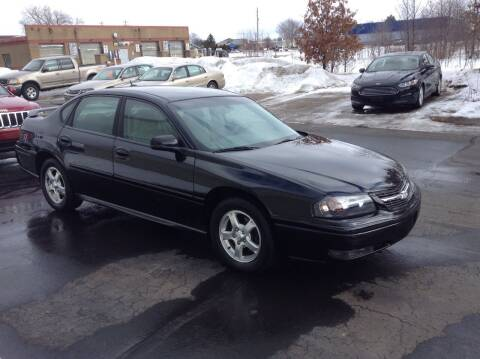 2005 Chevrolet Impala for sale at Bruns & Sons Auto in Plover WI