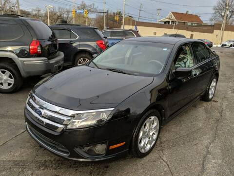 2011 Ford Fusion for sale at Richland Motors in Cleveland OH