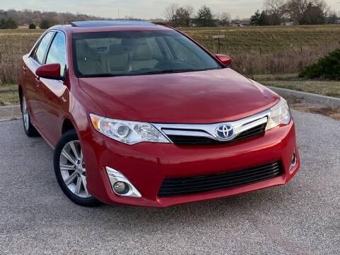 2012 Toyota Camry Hybrid for sale at Big O Auto LLC in Omaha NE