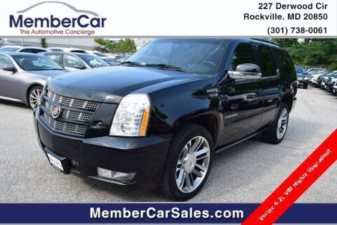 2014 Cadillac Escalade for sale at MemberCar in Rockville MD