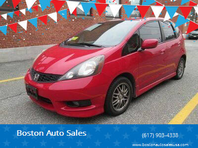 2013 Honda Fit for sale at Boston Auto Sales in Brighton MA