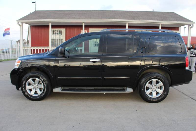 2014 Nissan Armada for sale at AMT AUTO SALES LLC in Houston TX