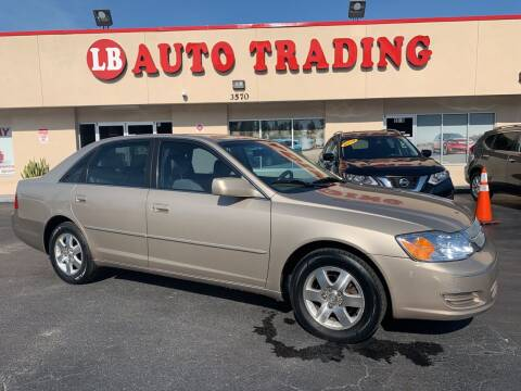 2000 Toyota Avalon for sale at LB Auto Trading in Orlando FL