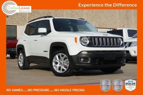2017 Jeep Renegade for sale at Dallas Auto Finance in Dallas TX
