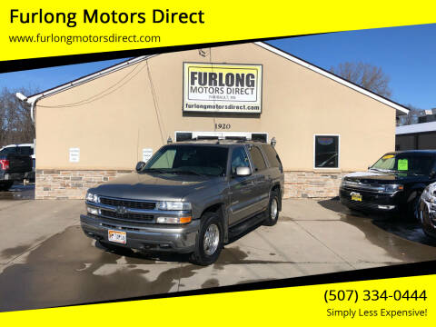2003 Chevrolet Tahoe for sale at Furlong Motors Direct in Faribault MN