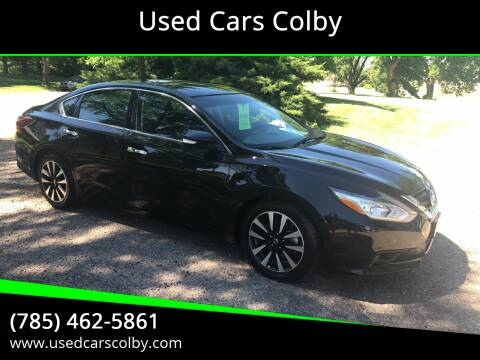 2018 Nissan Altima for sale at Used Cars Colby in Colby KS