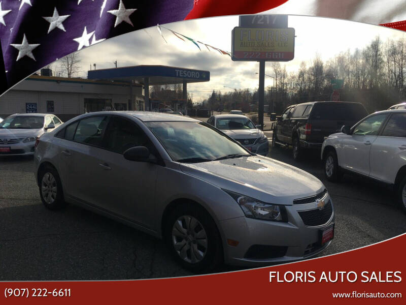 2014 Chevrolet Cruze for sale at FLORIS AUTO SALES in Anchorage AK