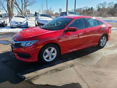 2017 Honda Civic for sale at Premier Motors LLC in Crystal MN