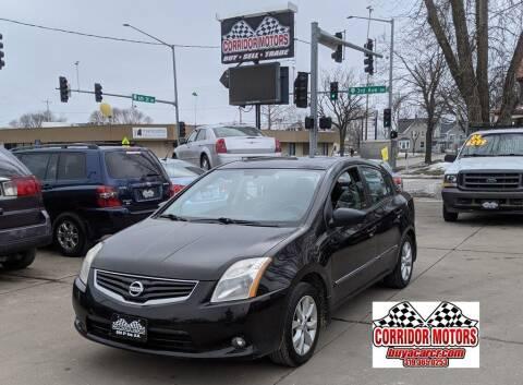 2010 Nissan Sentra for sale at Corridor Motors in Cedar Rapids IA