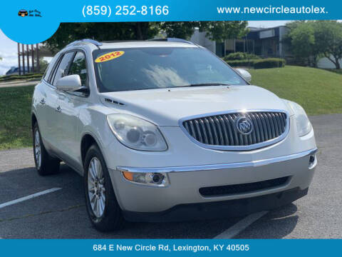 2012 Buick Enclave for sale at New Circle Auto Sales LLC in Lexington KY