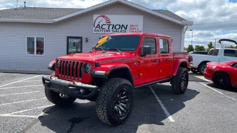 2020 Jeep Gladiator for sale at Action Motor Sales in Gaylord MI